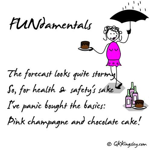 FUNdamentals by GK Kingsley - Pick-me-up Pearls and Humorous Verse
