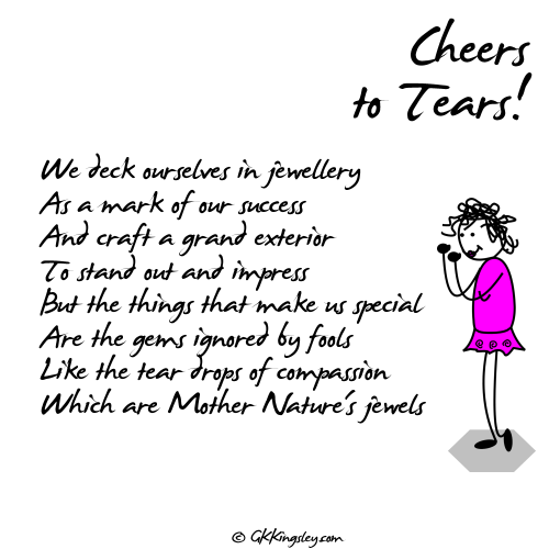 Cheers to Tears!