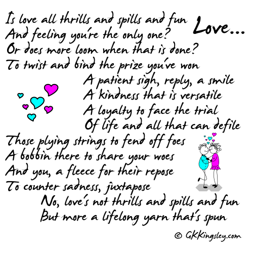 Love... by GK Kingsley