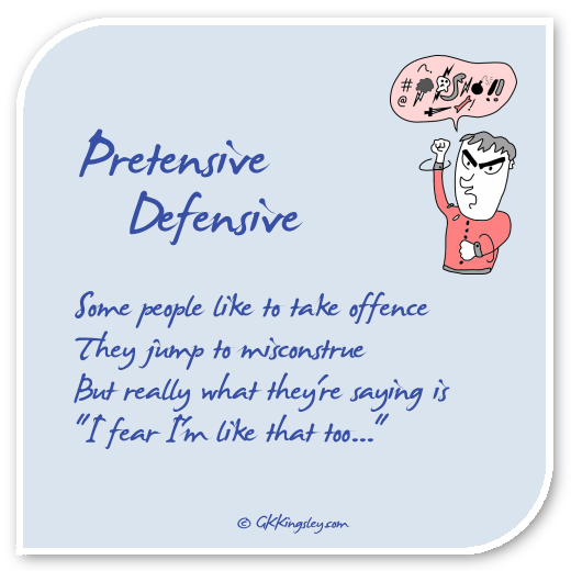 Pretensive Defensive by GK Kingsley
